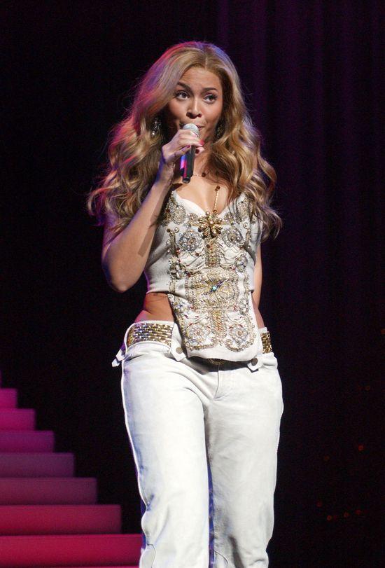 Beyonce w 2004 roku