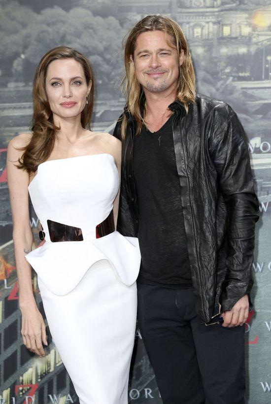 Angelina Jolie (41 l.) i Brad Pitt (52 l.) powstrzymywali się od takich komentarzy.