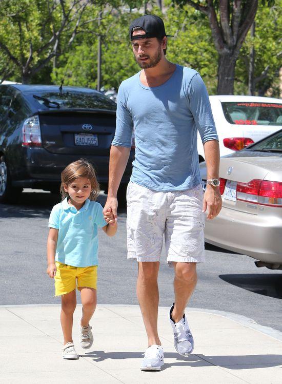 Mason Disick z tatą