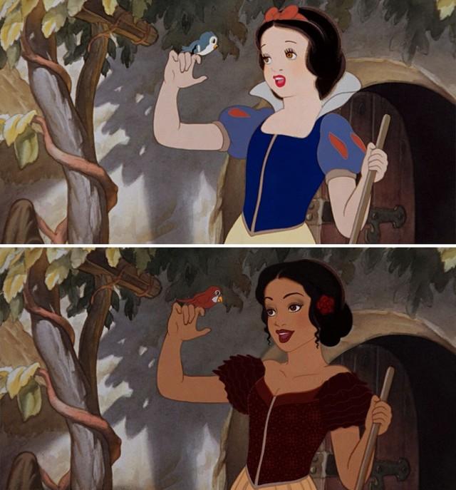 Gdyby księżniczki Disneya urodziły się w innych krajach…