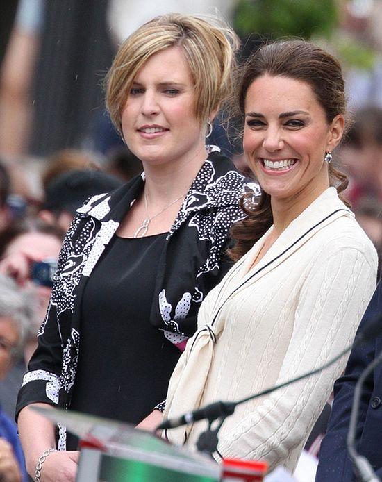 Kate Middleton, niski kucyk