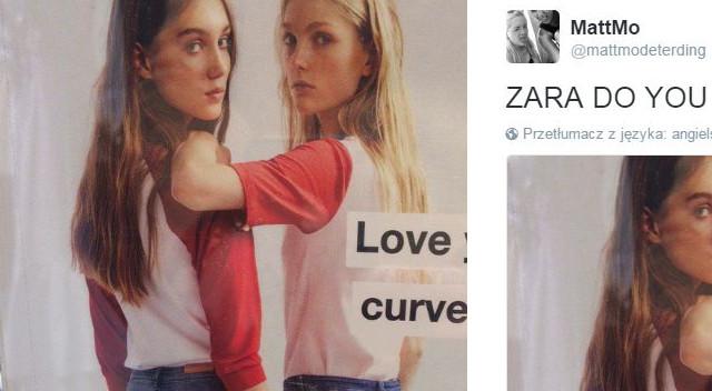 Wystarczyło jedno zdjęcie zrobione przez klienta Zary i wrzucone do sieci, by wokół nowej kampanii reklamowej marki rozpętała się prawdziwa burza.