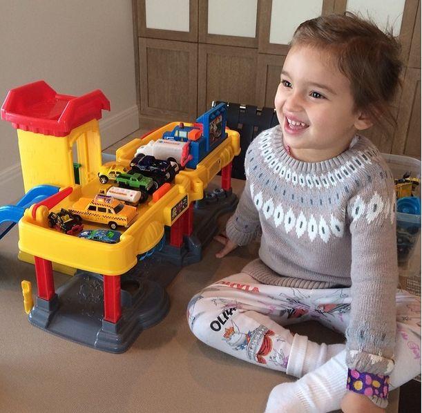 Arabella, córka Ivanki Trump