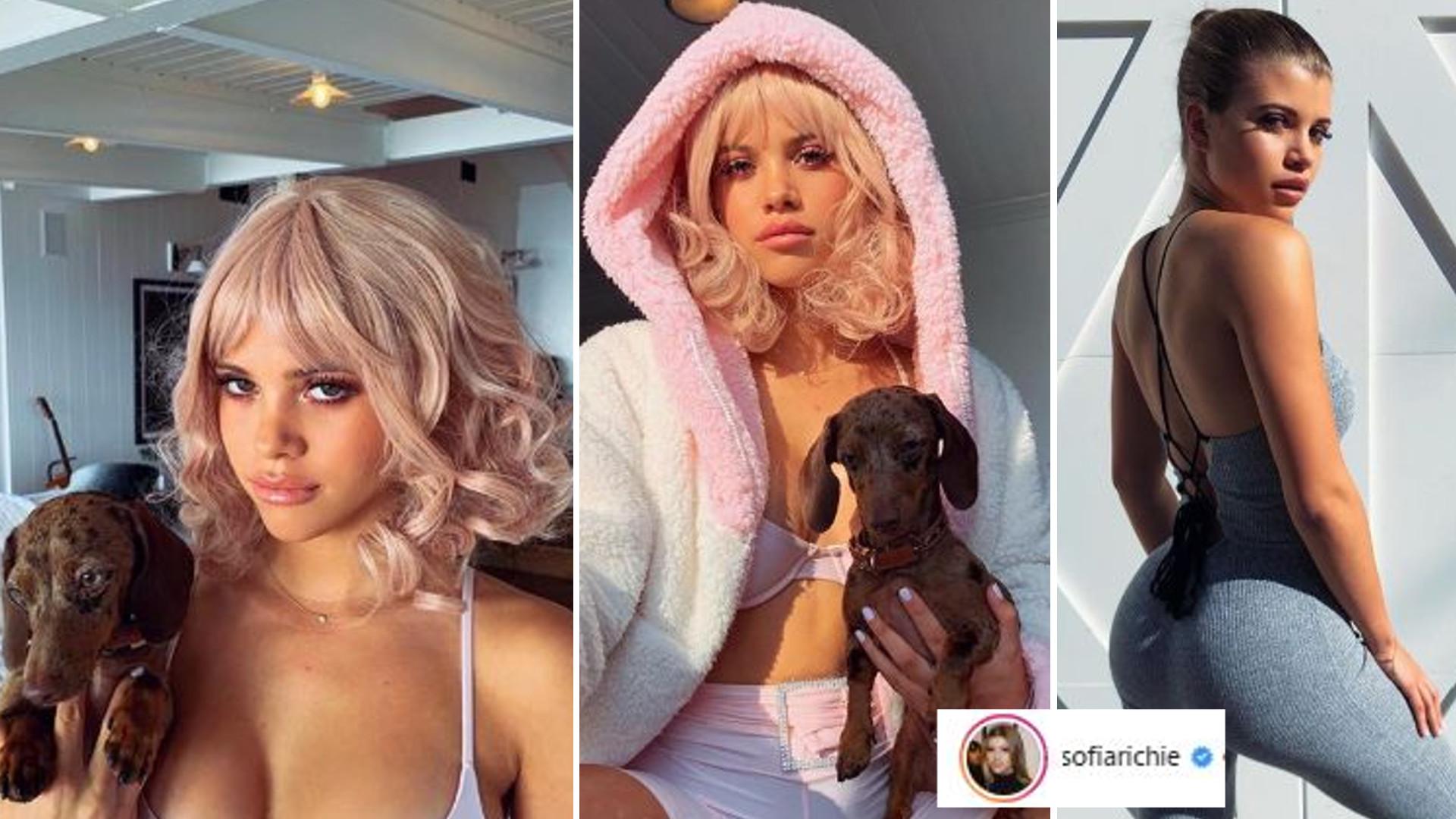 Sofia Richie chce być KLONEM Kardashianek i Jennerek