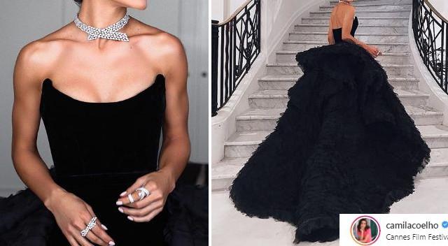 Na gali w Cannes wyglądała w tej sukni jak MILION dolarów (ZDJĘCIA)