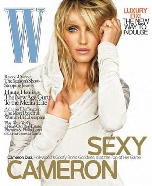 Cameron Diaz dla W Magazine