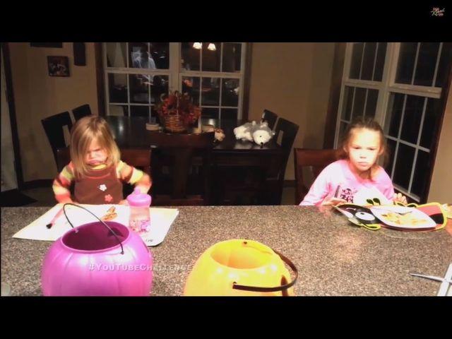 Zjadłem twoje słodycze z Halloween! [VIDEO]