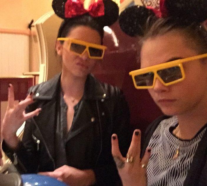 Kendall Jenner i Cara Delevingne NAPRAWDĘ są razem?!
