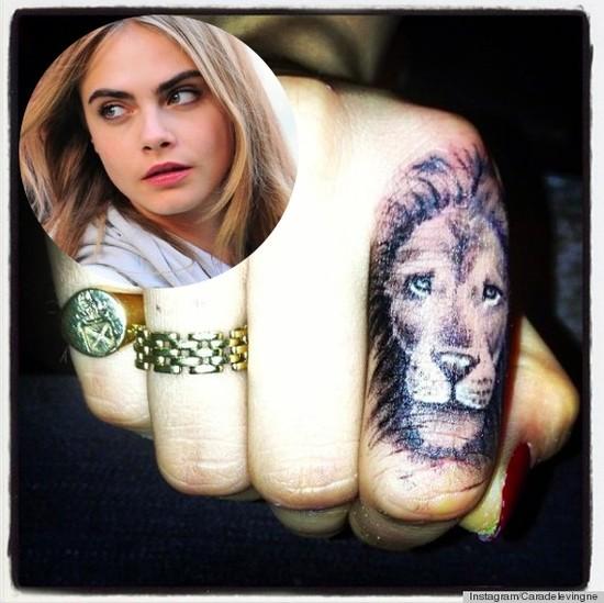 Najbardziej zaskakuj�ce tatua�e gwiazd (FOTO)