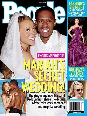 Zobacz ślub Mariah Carey