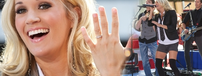 Carrie Underwood chwali się ślubną obrączką (FOTO)