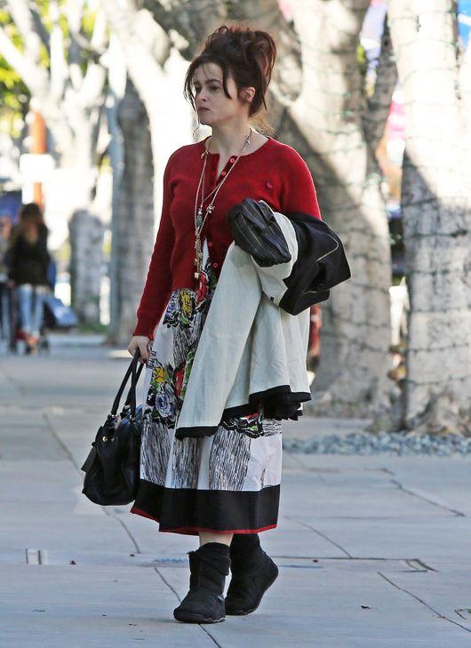 Helena Bonham Carter ma własną wizję mody (FOTO)