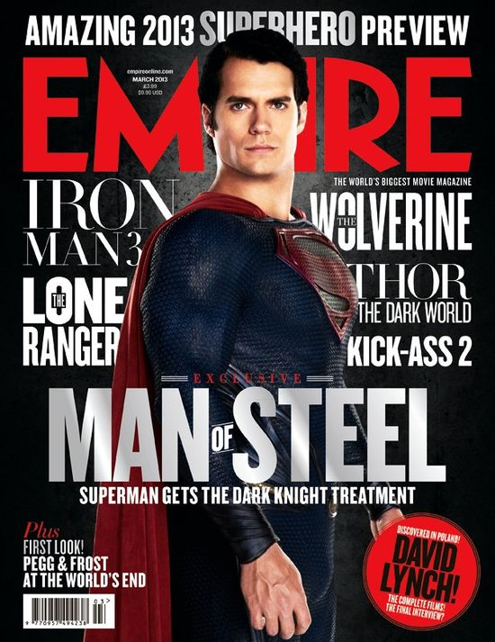Henry Cavill - nowy Superman na okładce Empire Magazine (FOT