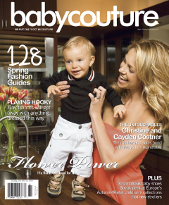 Synek Kevina Costnera w Baby Couture