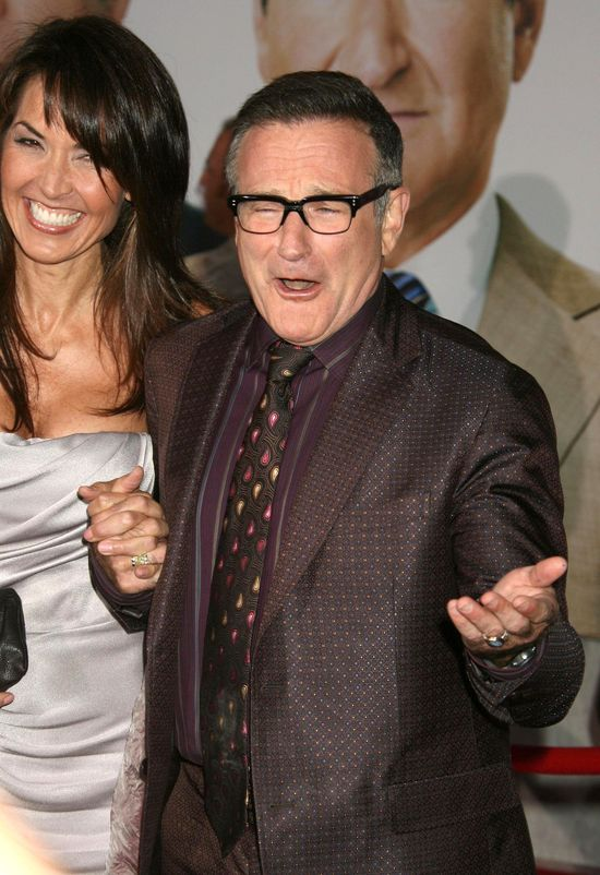 Robin Williams zmar� w swoi domu w Kalifronii 11 sierpnia 2014