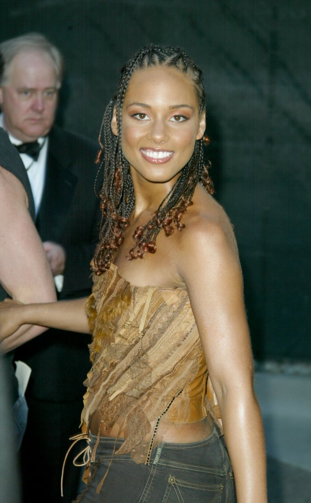 Alicia Keys na starych zdjęciach