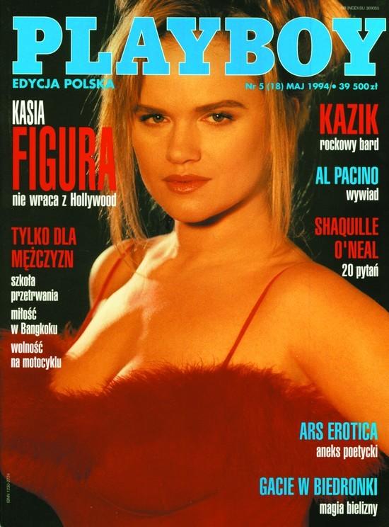 Okładki Playboya z lat 90.