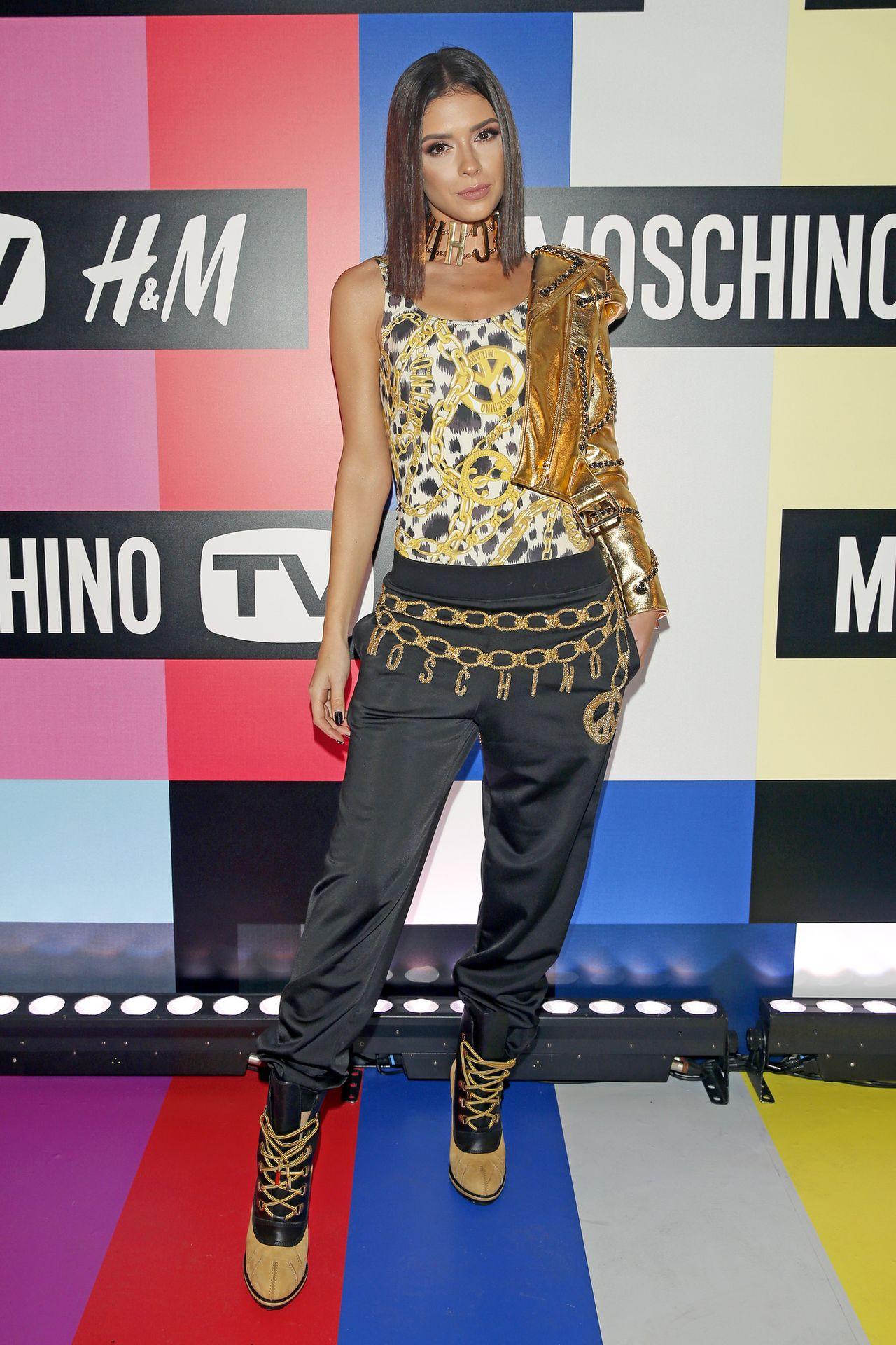 Gwiazdy na pokazie kolekcji Moschino dla HM