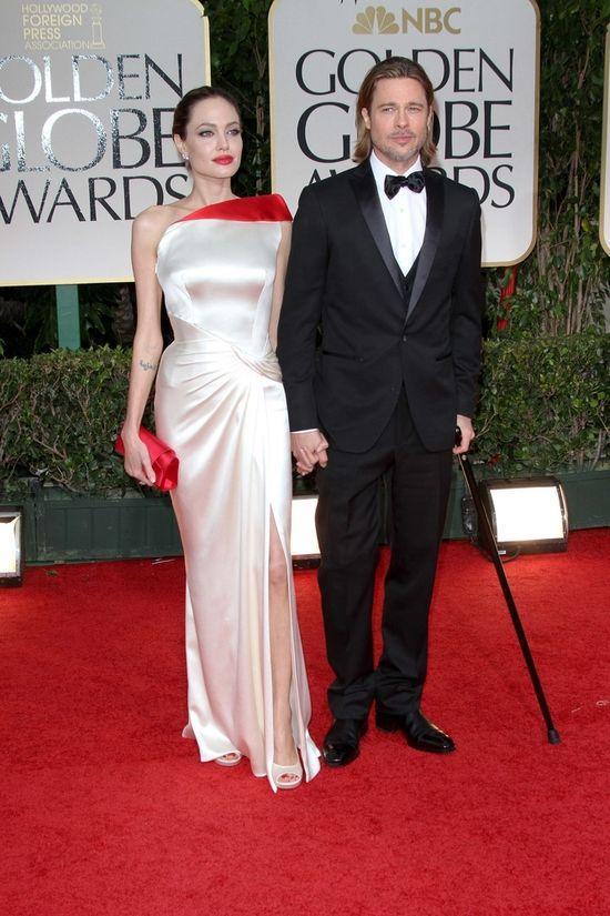 Miłości Brada Pitta i Angeliny Jolie w obrazkach