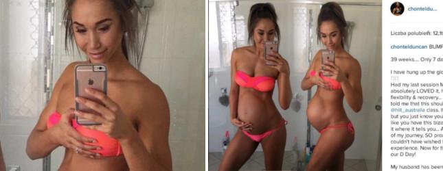 Straszyli, że jej dziecko urodzi się za małe (Instagram)
