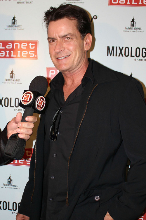 Charlie Sheen spotyka się z gwiazdą porno