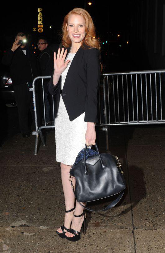 Jessica Chastain: Lubię filmy, które stawiają pytania (FOTO)