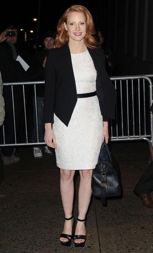Jessica Chastain: Lubi� filmy, kt�re stawiaj� pytania (FOTO)