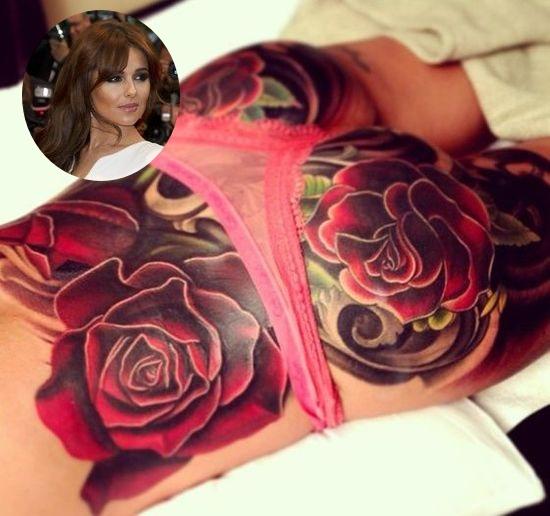 Najbardziej zaskakujące tatuaże gwiazd (FOTO)