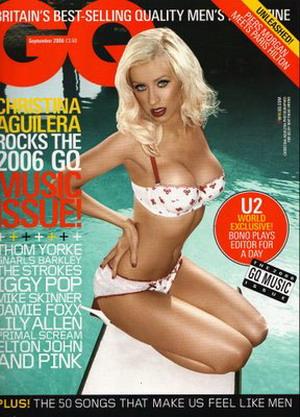 Aguilera w ciąży