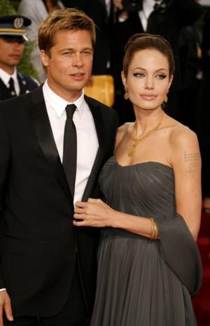 Jolie i Pitt w Nowym Orleanie