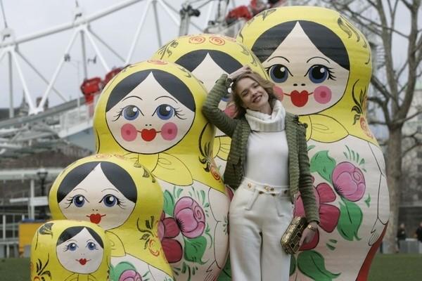 Vodianova promuje Rosję (FOTO)