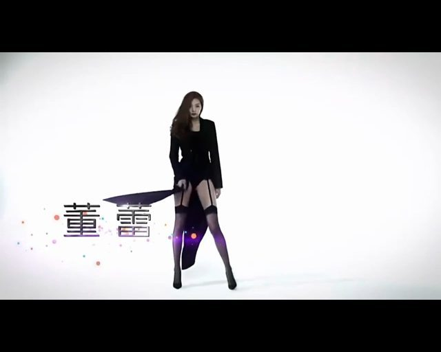 Chińska modelka o rekordowo długich nogach [VIDEO]