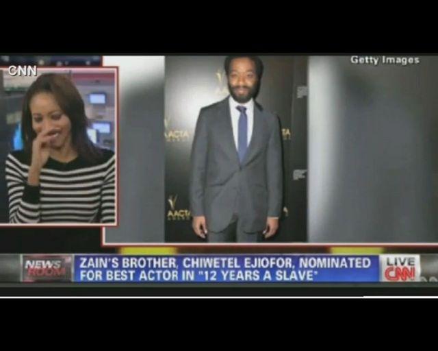 Siostra nominowanego do Oskara Chiwetela Ejiofora płacze