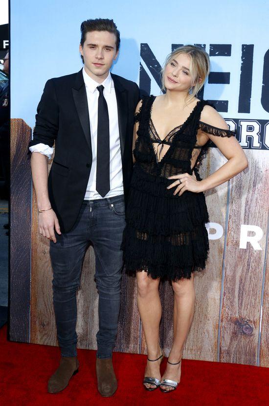 Brooklyn Beckham i Chloe Moretz zadebiutowali na czerwonym dywanie