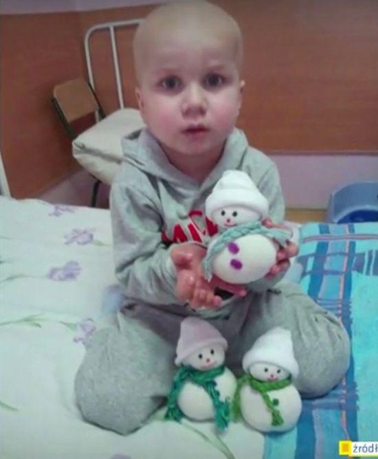 O tym chorym na białaczkę 4-latku mówi cały świat!