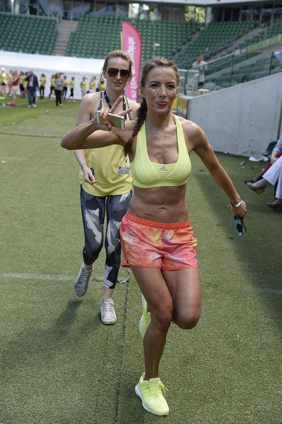 Chodakowska nie gorsza -  też pokazała muskularne plecy