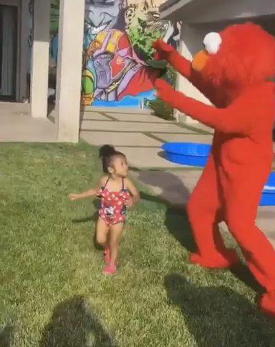 Chris Brown wrzucił film z córeczką i szybko go skasował