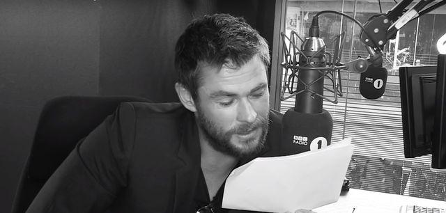 Chris Hemsworth czyta tekst Work. Panie mdleją (VIDEO)