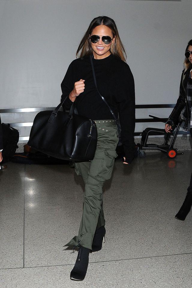 Ależ ona wygląda! Na lotnisku wzbudziła sporo zachwytów!