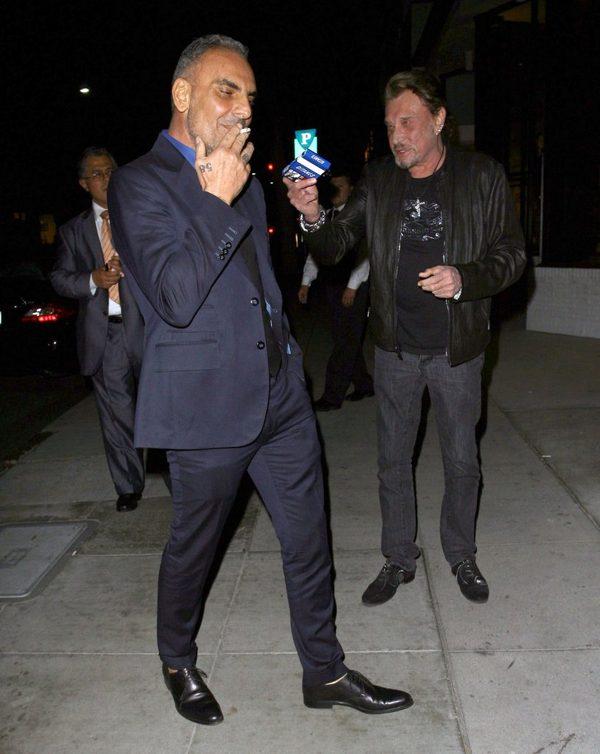Christian Audigier wraca do domu po kuracji antyrakowej FOTO