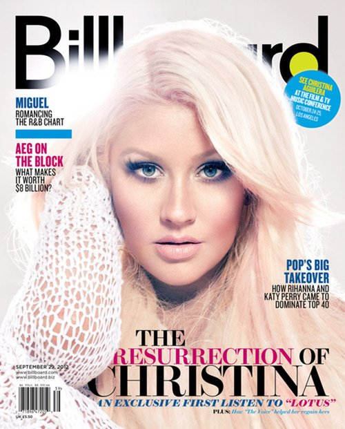 Christina Aguilera na ok�adce Billboard (FOTO)