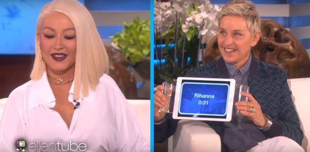 Christina Aguilera bije Arianę Grande na łeb, na szyję?