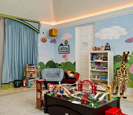 Pokoje dzieci gwiazd - jak mieszkają maluchy znanych osób?