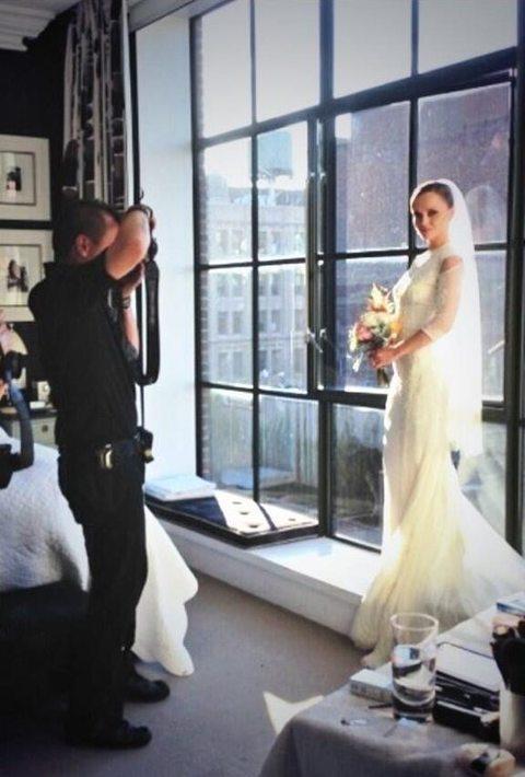 Tak wyglądała suknia ślubna Christiny Ricci! (FOTO)