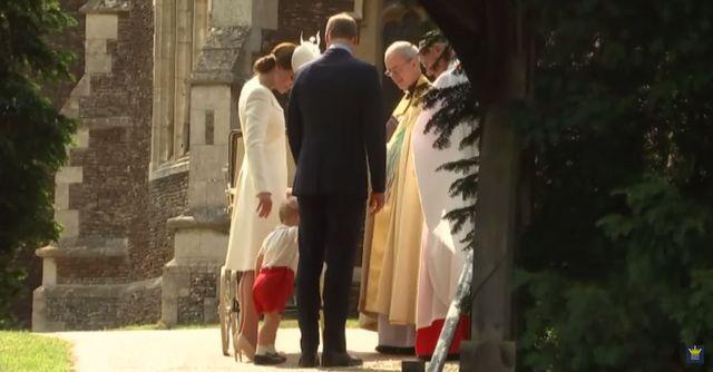 Księżniczka Charlotte została ochrzczona (FOTO+VIDEO)