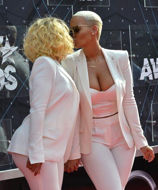 Blac Chyna i Amber Rose narobiły zamieszania na gali BET