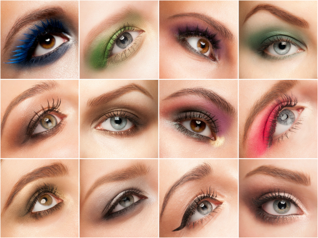 cienie do powiek makijaż oczu