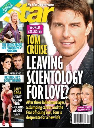 Szok! Tom Cruise odchodzi od scjentologów?