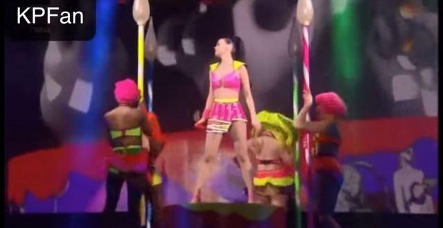Katy Perry wyśmiewa Kim Kardashian na swoich koncertach
