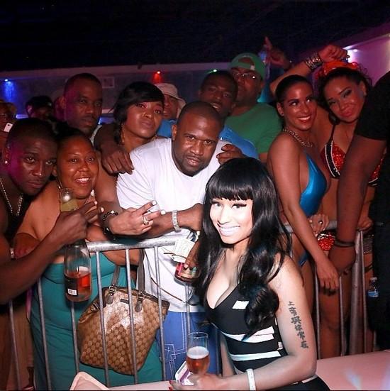 Tak się bawi Nicki Minaj